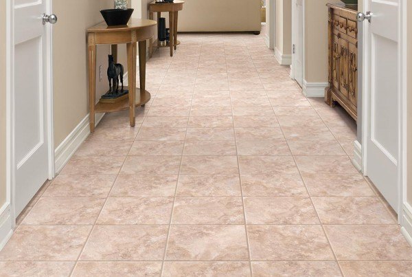 COLORTILE Luxury Vinyl Tile Alabaster