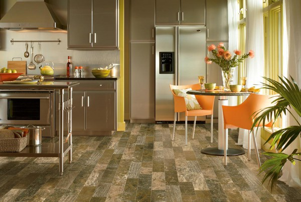 COLORTILE Cushioned Resilient - Aragon Travertine