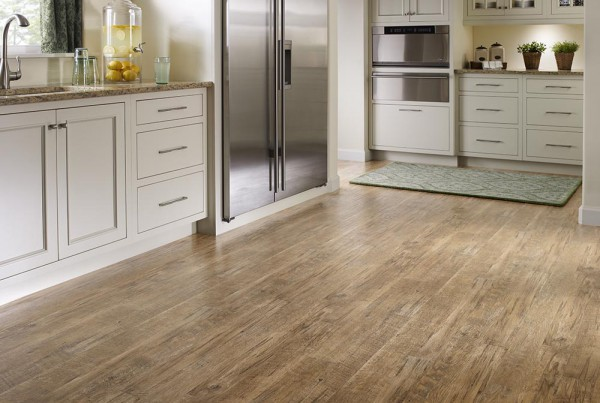 Mannington Luxury Vinyl Sheet - Black Mountain Oak