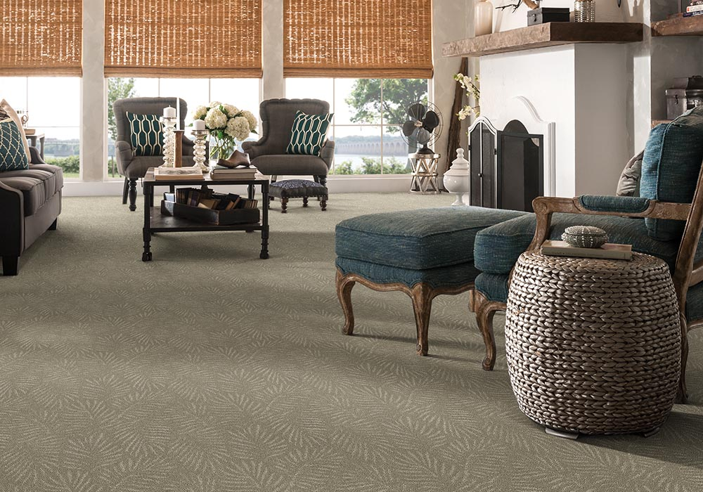 Downtown Diva Stainmaster PetProtect carpet palm fronds