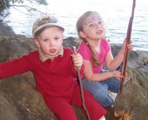 kids-on-rocks-at-lake-300x242